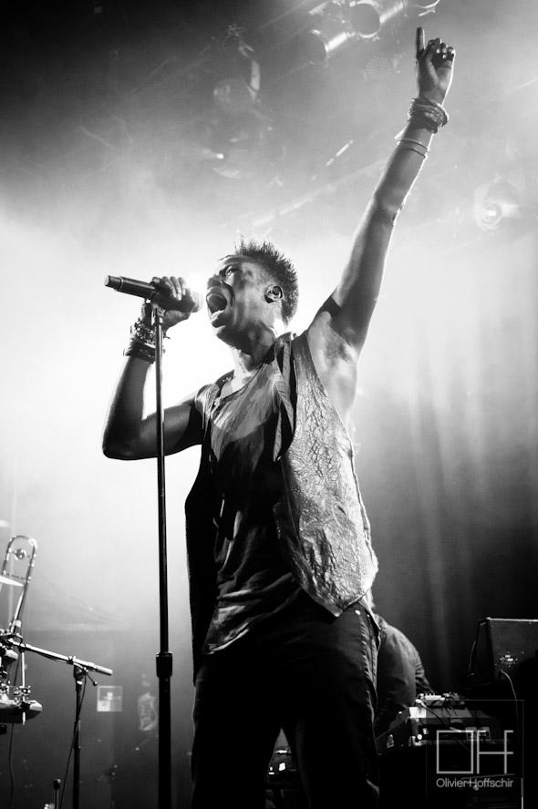Saul Williams @ La Cigale - Festival des Inrocks