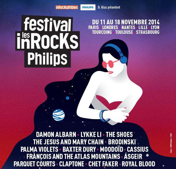 Le Festival Des Inrocks édition 2014, c'est parti !