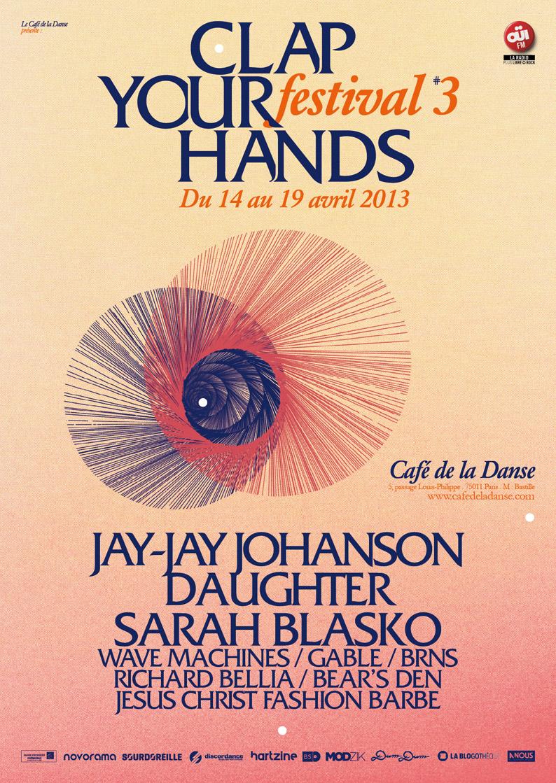 Festival « Clap your hands » Du 14 au 19 avril 2013 / Café de la Danse